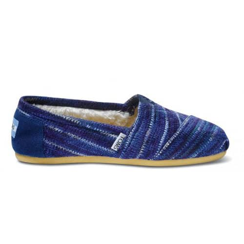 TOMS Classic Rust Knit Slip-On