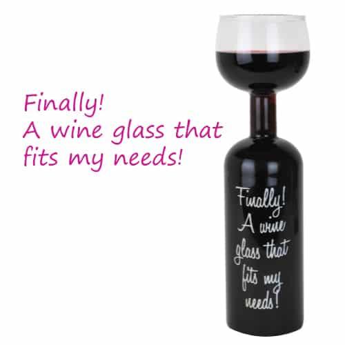 Ultimate Wine Bottle Glass