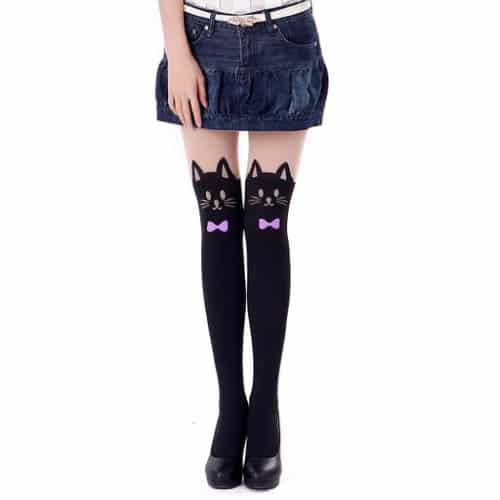 Printed Pantyhose Stockings