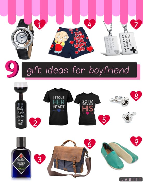 9 great gift ideas for your boyfriend labitt for Presents for boyfriends birthday