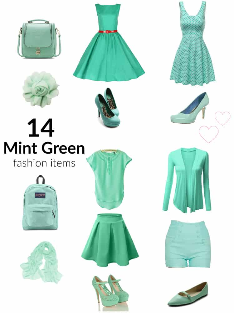 Mint Green Dress Outfits