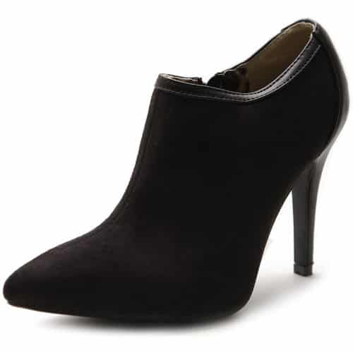 Ollio Suede Ankle Boots