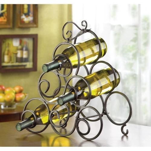 Swirl Wine Rack