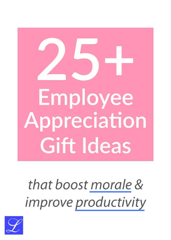Employee Appreciation Gift Ideas. Thank You Gift for Staff and Coworker.