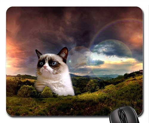 Grumpy Cat Mouse Pad