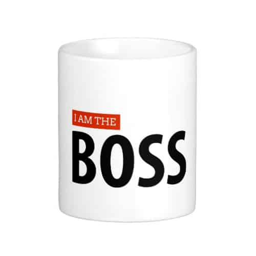 I Am The Boss Mug. Mug for girlboss. Unique and funny 21st birthday gift ideas for girlfriend. Girl gift.