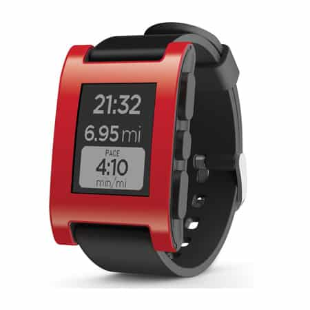 Pebble Smart Watch for iPhone and Android-Devices
