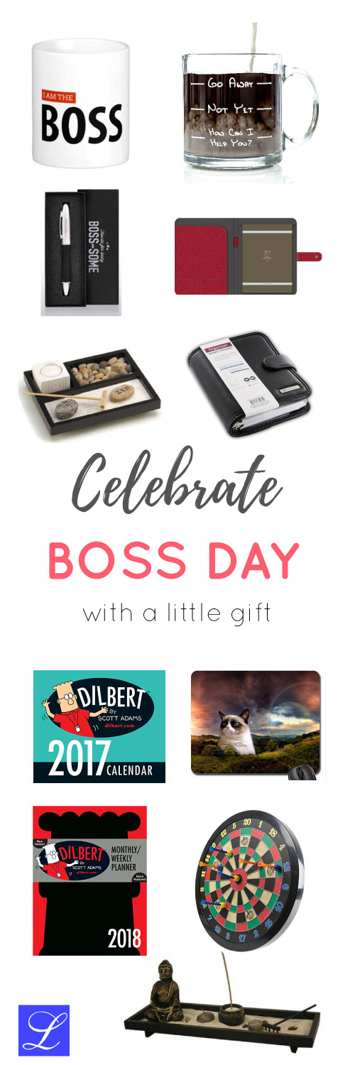 Recognition Gift Ideas for Managers and Supervisors. Boss Day Appreciation Gift Ideas.