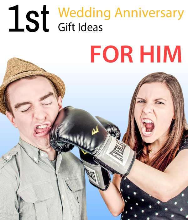 Anniversary Ideas for Him