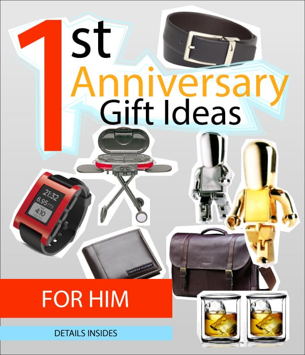 1st Wedding Anniversary Gifts Him: 11 Lovely 1st Wedding Anniversary Gift Ideas For Him