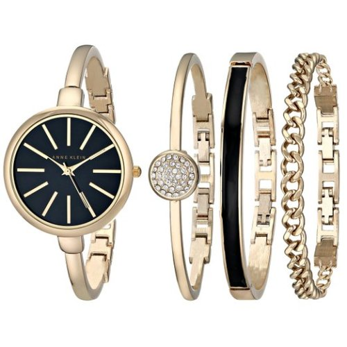 Anne Klein Watch and Bracelet Set