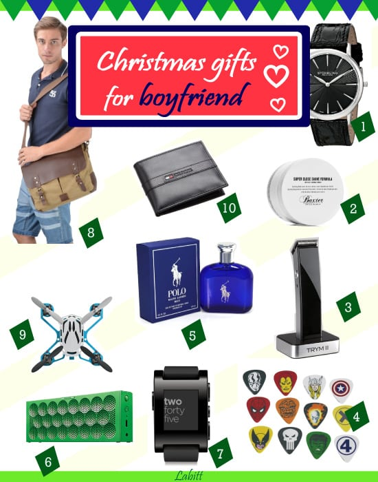 Top christmas gift ideas for boyfriend 2017 metropolitan for Great christmas gifts for fiance