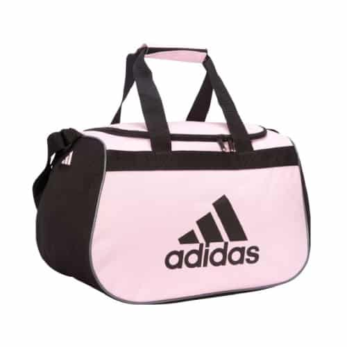 Pink Adidas Small Duffel Bag - Gym Workout Outfit Ideas - Accessory