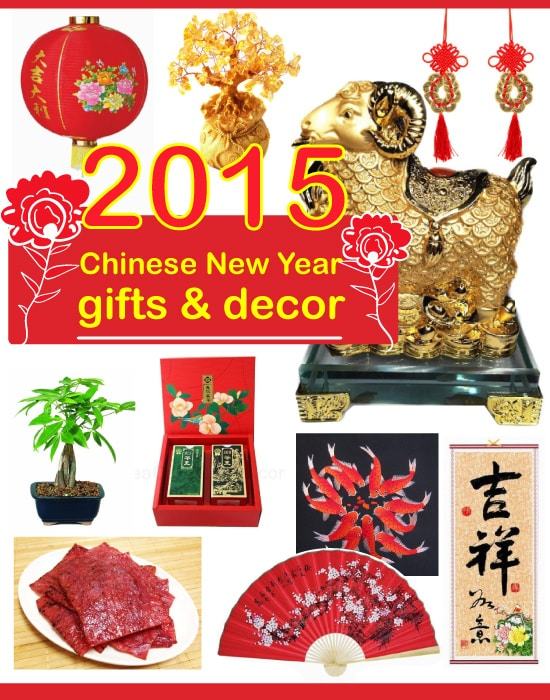 2015 Chinese New Year Gifts & Decor