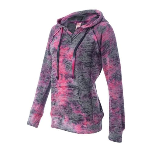 Weatherproof Burnout Hooded Pullover | women sportswear outfit ideas for her