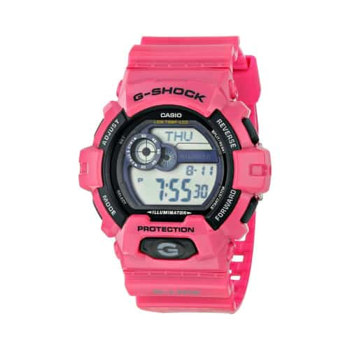 Pink Watch | Pink Sports Outfit Accessory Ideas | Gshock