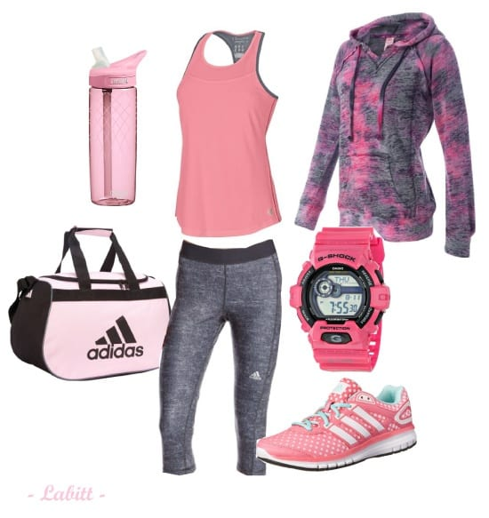 Top 7 Pink Sports Outfit Ideas (Updated May 2017) - Ufe0f Metropolitan Girls Ufe0f