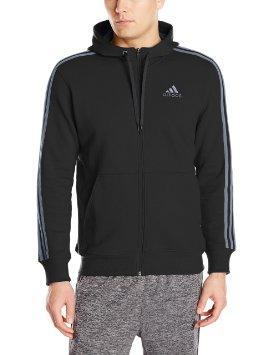adidas Performance Men's Essential Heavyweight Fleece Full-Zip Hoodie