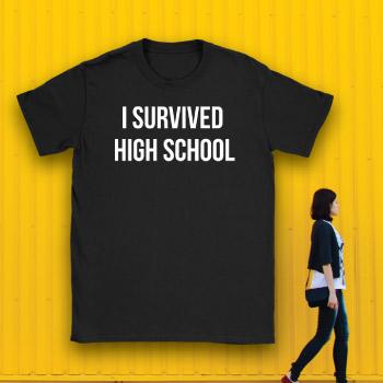 funny high school graduation t-shirt gift idea for guys