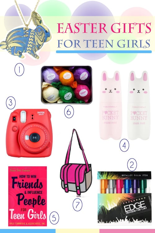 List of 7 easter basket ideas for teen girls metropolitan girls easter basket for teen girls negle Choice Image