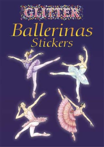Glitter Ballerinas Sticker Book