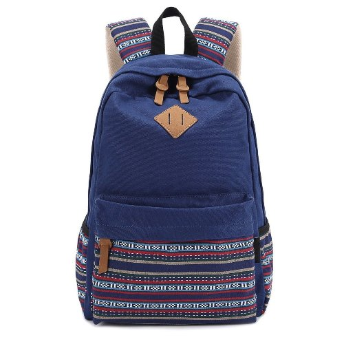 high school graduation gift for her - Winkine Canvas Laptop Backpack
