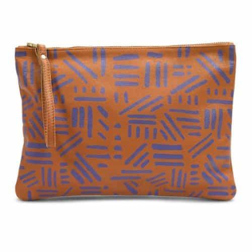 Leah Lerner Women Clutch Handbag