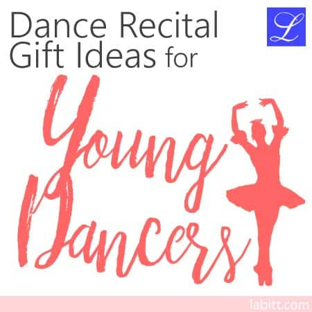 > Ideas for a young dancer's first dance recital Gift Ideas for young dancers -- boys and girls.