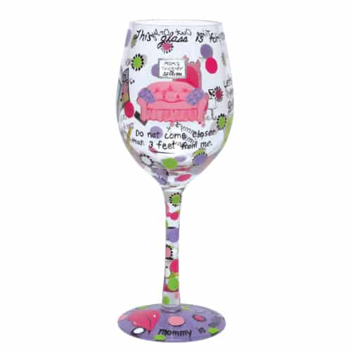 Lolita Love Mommy's Time Out Wine Glass