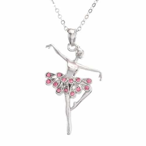Ballet Pendant Necklace