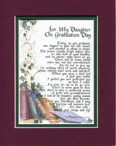 high school graduation gift for daughter - sentimental