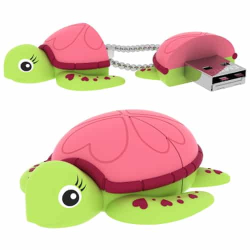 EMTEC Baby Turtle Flash Drive