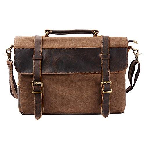 Vintage Messenger Laptop Bag