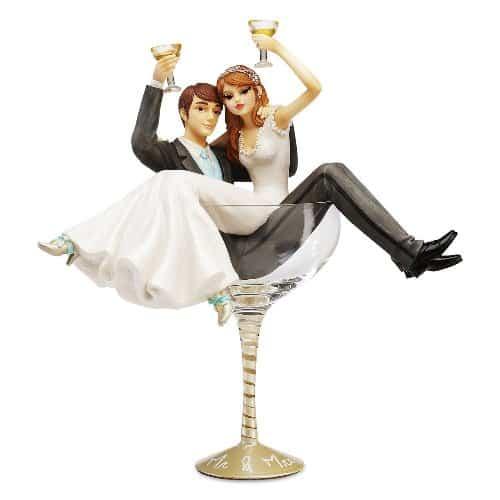 Wedding Keepsake Champagne Glass