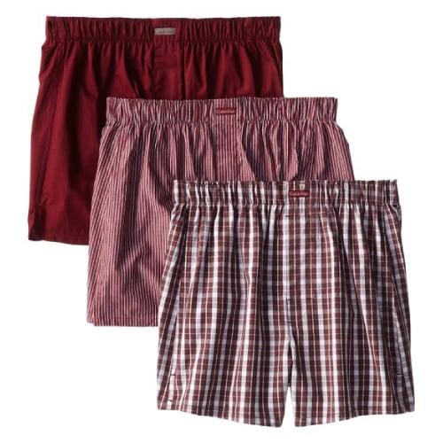 calvin klein cotton classic woven boxer