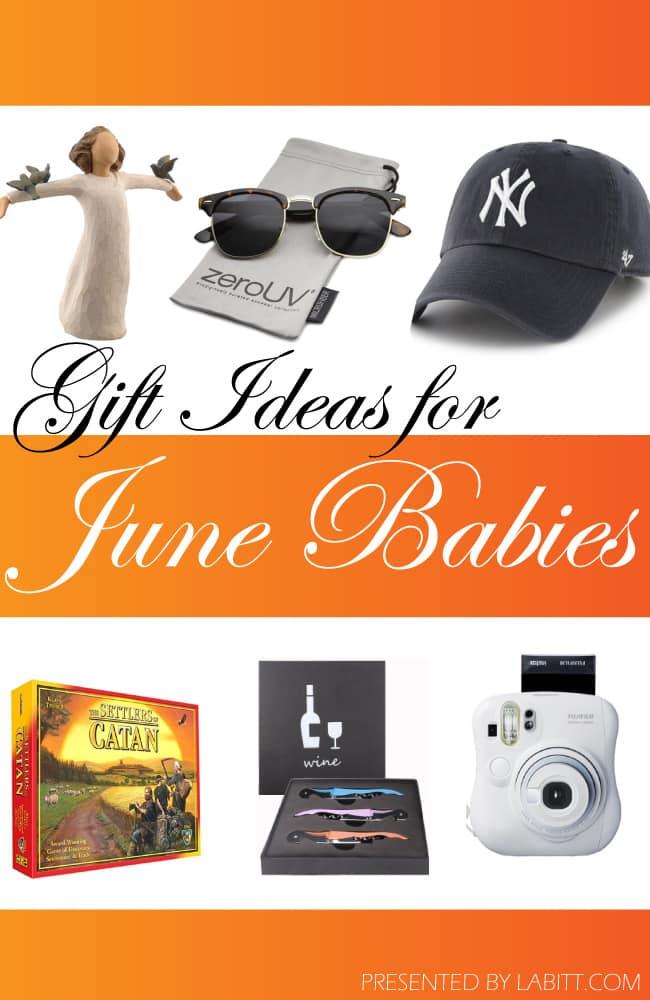 Ideas for June Birthdays