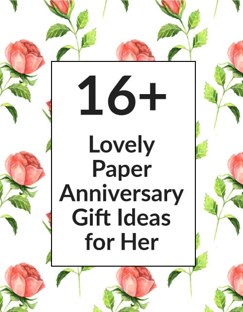 16 paper 1st wedding anniversary gift ideas for your wife for 1st wedding anniversary paper gift ideas