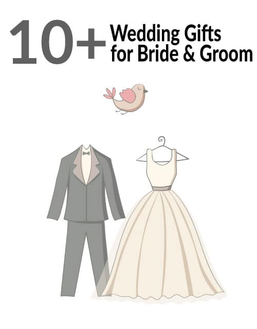 Check out these lovely wedding gift ideas for bride and groom.