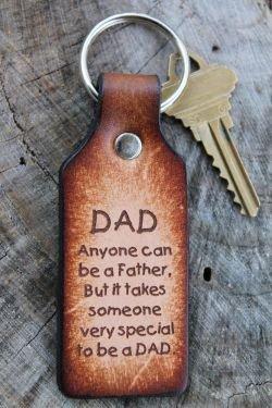 Dad Quote Keychain
