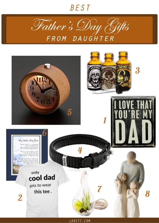 Father's Day Gifts from Daughters