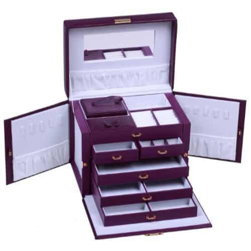 Leather Jewelry Storage Case