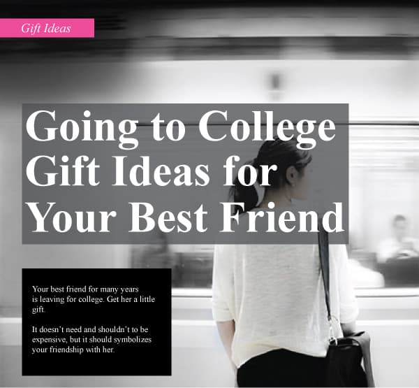 College Parting Gift Ideas
