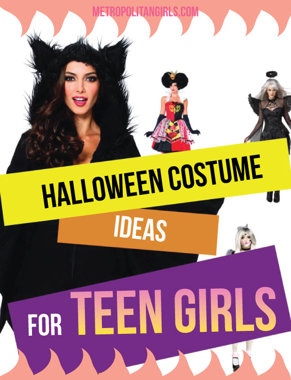 Halloween Costume Ideas for Teen Girls