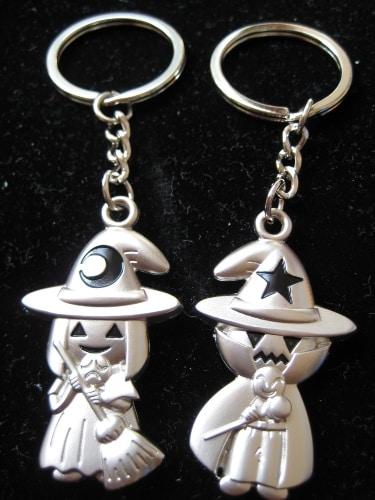 Halloween Witch Couple Keychain