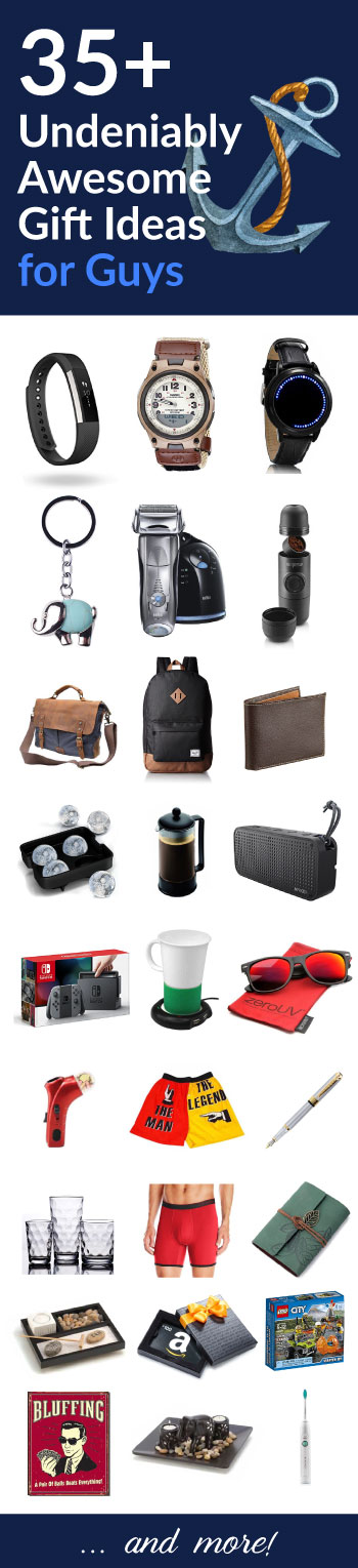 35+ Cool Gift Ideas for Men / Guys