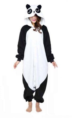 Adorable Polar Fleece Animal Onesie