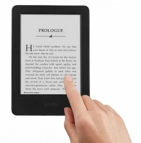 Glare-free Kindle with Wifi