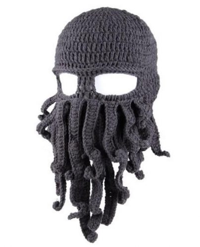 Octopus Face Mask Beanie