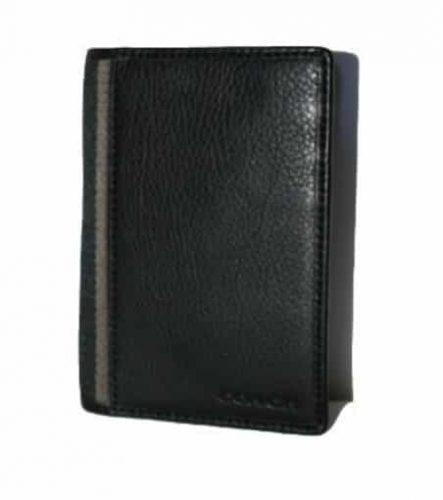 Coach Leather Passport Case