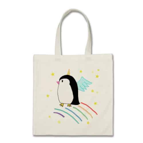 Unicorn Penguin Bag